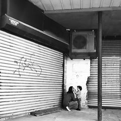 Jenny (ShelSerkin) Tags: shotoniphone hipstamatic iphone iphoneography squareformat mobilephotography streetphotography candid portrait street nyc newyork newyorkcity gothamist blackandwhite