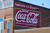 Coca-Cola Ghost Sign, Lawrenceville, IL (Robby Virus) Tags: lawrenceville illinois il cocacola ghost sign signage tennison co company groceries store ad advertisement painted repainted drink delicious refreshing