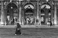 Uno tra tanti ti guarderà come sei - One of many will look at you as you really are (carlo tardani) Tags: venice venezia veneto piazzasanmarco persone urbanphoto street bianconero blackandwhitephotos nikond750 bestportraitsaoi