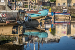 Aberystwyth harbour 1 (babs pix) Tags: aberystwyth aberystwythharbour ceredigion boats yachts reflections winter westwales wales