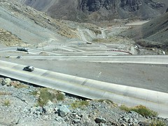 Across The Andes from MENDOZA to SANTIAGO- DH (melmashman) Tags: chile road ruta los strada carretera route estrada andes caracoles metropolitana rodovia regin