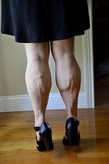 _DSC0059jj (ARDENT PHOTOGRAPHER) Tags: woman female highheels muscular veins calves flexing veiny muscularwoman