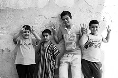 L9983369 (MarwanShousher) Tags: kids children football soccer refugee amman middleeast streetphotography jordan un arab