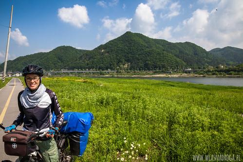 Górzysta część Korei