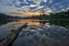 PPAS Lake Sunset | Scene 2 (Shamsul Hidayat Omar) Tags: sunset lake reflection tourism landscape photography high interesting nikon scenery dynamic places scene malaysia omar range hdr d3 selangor shah alam hidayat greatphotographers shamsul ppas photoengine oloneo