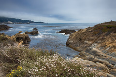 Pacific Shore, 4th of July (nosha) Tags: ocean california ca blue sea sky usa seascape beautiful beauty landscape rocks shore nosha
