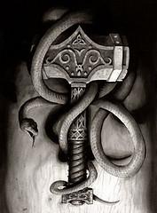 Mjllnir (8) (fiore.auditore) Tags: thor mythology mythologie mjlnir asatru mjllnir