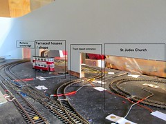 OO Tram layout - a work in progress (kingsway john) Tags: uk london scale project layout model transport tram hobby oo gauge tramway diorama 176