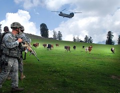 Sky Soldiers air-assault onto clouds of Nuristan (kaymagicalplace) Tags: afghanistan nuristanprovince
