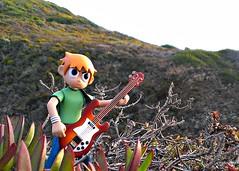 Scott Pilgrim's Wild Solo (John 3000) Tags: california park sunset mountains beach nature toy actionfigure state guitar natureza cartoon solo characters garrapata juguetes scottpilgrim