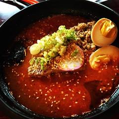 #gaijin #ramen #🍜 (christaki) Tags: food arlington soup egg ramen va gaijin cherrydale
