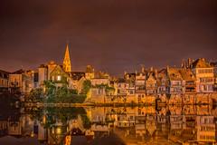 Argenton by Night (actasif) Tags: nightphotography france sur creuse argenton theforgottenfrance forfottenfrance argenten