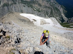 """Scrambling up the west ridge • <a style=""""font-size:0.8em;"""" href=""""http://www.flickr.com/photos/41849531@N04/19739995402/"""" target=""""_blank"""">View on Flickr</a>"""