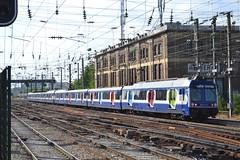 SNCF Transilien 6479 - 6480 (Will Swain) Tags: travel france seine train de french europe north transport july rail railway des sur 9th railways franais asnieres socit parisian fer sncf nationale transilien 2015 chemins 6479 6480
