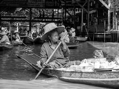 Floating Market 6 (Smillermeister) Tags: bw market bangkok floating