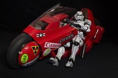 The Imperial Ghost Rider? (katsuboy) Tags: anime starwars ghost stormtroopers stormtrooper motorcycle imperial akira rider kaneda variantplayartskai projectbmthe