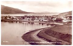 Ullapool, Scotland, 1935. (Paris-Roubaix) Tags: ullapool summer isles loch broom antique postcards scotland vintage scottish wester ross