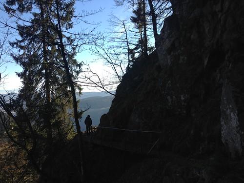 Sur le Sentier des Roches