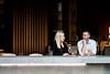 (Laszlo Papinot) Tags: melbourne southbank people woman lady man gentleman restaurant conversation chat