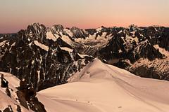 Alpes françaises (morganelafond) Tags: mountain montagne alpes nature wild sauvage paysage extérieur france europe landscape neige sunrise lever soleil