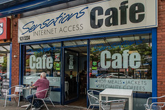 Sensations Cafe with Internet Access (hilofoz) Tags: bootle merseyside england uk