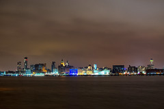 Liverpool Skyline from Hamilton Square (Ross_Harding) Tags: liverpool skyline landscape nigh long exposure nikon 35mm d7000 18 young photographer wirral uk birkenhead river mersey cloud cold