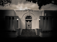 Mr Hay's Dream (ajecaldwell11) Tags: artdeco hawkesbay newzealand ankh museum blackandwhite napier sky vintage mtg caldwell clouds light f2 12mmrokinon