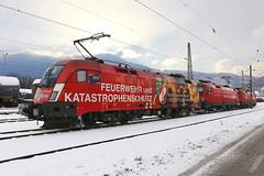 ÖBB 1016 048-1 Feuerwehr und Katastrophenschutz, Innsbruck (michaelgoll777) Tags: öbb taurus 1110 1016
