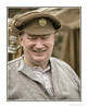 Happy Chap (Seven_Wishes) Tags: newcastleupontyne tanfield heritage reenactment reenactor photoborder candid portrait people outdoor uniform khaki cook soldier peakhat canoneos5dmark3 canonef70200mmf28lisii analogefexpro2 filmsimulation vintage happy mutedcolour hh