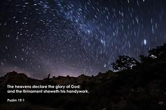 God is present! (Tobiasvde) Tags: god stars night sky heavens nature landscape cyprus akamas romans 120 1 20 proverbs 3 19 bible bijbel bibel verse vers nikon d7000 nikkor 1024