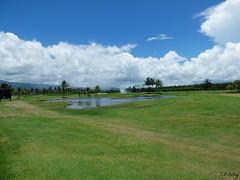 Scenic Course (Christopher B Kelley) Tags: resorts greenery pond sky clouds scenery beauty chrisbk23 christopherkelley cbkelley cbkelleyphotography panasonic lumixfz70 lumix bridgecamera art puertorico rio grande landscape