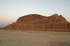 Ziggurat Choga Zanbil (peuplier) Tags: iran perse ziggourat ziggurat chogha zanbil choqa tchoga