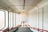 red thread (_gate_) Tags: metro vienna austria wien österreich ubahn vic international centre kaisermühlen urban city architecture samyang 14mm 28 nikon d750 gate wean light warm licht 2001 weltall