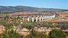 TECO en Font de La Figuera (lagunadani) Tags: paisaje viaducto fosino fontdelafiguera puente teco tren mercancias contenedores renfe 253 traxx valencia sonya7