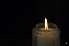 Flicker (sdgiere) Tags: wartburgtheologicalseminary fire flame light candle flicker solitary minimalist