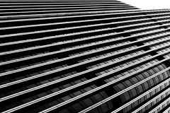 Lines (Chris O'Brien Photography) Tags: ef24105mmf4lisusm london tower42 bw architecture canon eos5dmarkiii uk city 5dmk3 5d3 blackandwhite mono monochrome abstract building lines diagonal geometric windows skyscraper steel glass perspective