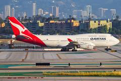 VH-OJU (rcspotting) Tags: vhoju boeing 747400 qan qantas lax klax