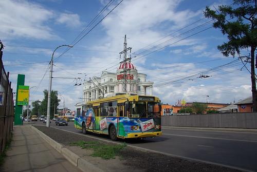 Irkutsk trolleybus ZiU-682-G016.02 271 ©  trolleway