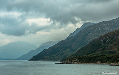 "Loch Nevis (Scotland by NJC.) Tags: scotland lochnevis fjord inlet sound creek firth sealoch enseada 水湾 ensenada crique bucht insenatura 入り江 작은 만 clouds haze billowing mist fog ""rain clouds"" obscure shadow سَحَابَة nuvem 云 oblak sky wolk nube pilvi nuage wolke σύννεφο nuvola 雲 chmura nor cloud mountains hills highlands peaks fells massif pinnacle ben munro heights جَبَلٌ montanha 山 planina hora bjerg berg montaña vuori montagne βουνό montagna fjell coastline shoreline seashore coast shore seaboard seaside beach strand ferry"