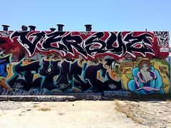 VERSUZ (UTap0ut) Tags: california art cali graffiti la los pain angeles socal cal graff lts kog versuz iymc utapout