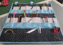 Organizador (Crafts by Sandra Kecek) Tags: home handmade patchwork painel portatreco organizador