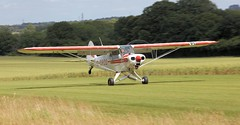 Piper PA-18-150 Super Cub G-OROD Tisted Fly-In 4th July 2015 (SupaSmokey) Tags: cub 4th july super piper flyin 2015 gorod pa18150 tisted