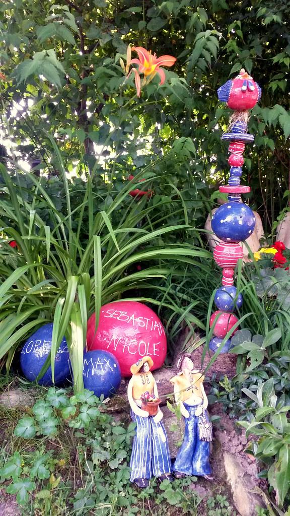 Keramik Im Sommergarten (Keramik Manufaktur) Tags: Garten 2015  Gartenkeramik Sommerausstellung