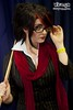 IMG_6736 (Neil Keogh Photography) Tags: red white stockings cane scarf glasses cosplay skirt blouse suit jacket ruler fiora headmistress highheelsblack leagueoflegends mcmcomicconmanchester2015