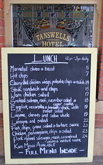 Anyone for lunch? (Graham`s pics) Tags: travel holiday tourism plaque menu lunch board text australia victoria tourist vic info information beechworth goldtown tanswellshotel gspiccies
