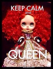 Bitch, I'm Queen. #blythe #ブライス #Queen DL#DLG #cravero