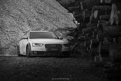 Jan's A4 AllRoad (Alva-photos) Tags: switzerland geneva wheels a4 audi vag hps stance airride vossen allroad stanced stanceworks stancenation juststance alvaphotos
