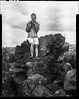 Rocky Outcrop (GX67) Tags: moon white black film photography kodak trix large craters 4x5 format 320 calumet 320txp