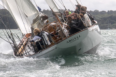 Panerai British Classic week - Ladies race (Barry James Wilson) Tags: sailing isleofwight yachts panerai yachtracing classicyachts thesolent cowesisleofwight
