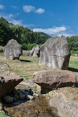 Herd-of-stone-bison (fazdu13) Tags: statue landscape bison